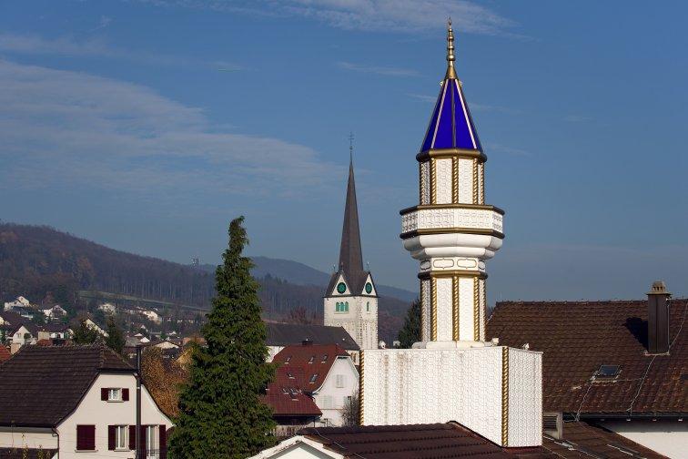 Minareti nella Svizzera interna