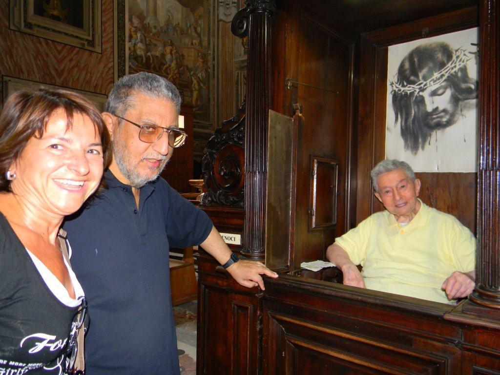 Con Gabriella Sbattella e Giuseppe Bortone sj