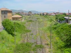 Area ferroviaria abbandonata Randazzo