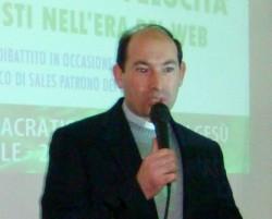 Don Marco Catalano, direttore dell'ufficio diocesano per le comunicazioni sociali