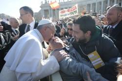 Papa con disabile