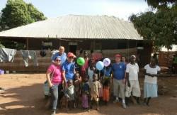 Sebastiano Genco nella sua missione in Guinea-Bissau