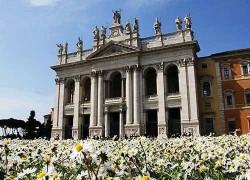 La basilica di San Giovanni in Laterano, cattedrale di Roma