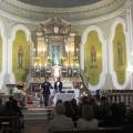 Francesco Vaiasuso e la moglie Daniela nel Santuario di Vena