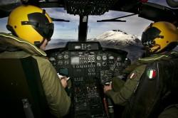 Il fotoreporter Parrinello con i piloti GDF