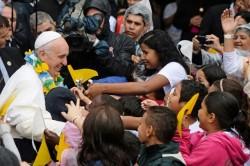 Il Papa nella favela di Varginha