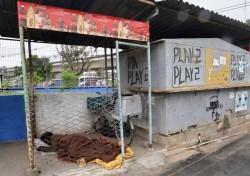 Un povero nella favela di Varginha