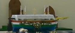 L'altare su cui ha celebrato Papa Francesco