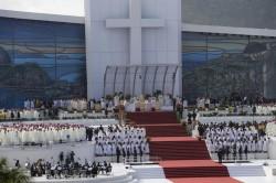 La Messa conclusiva della GMG, celebrata sulla spiaggia di Copacabana