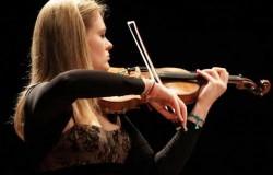 La violinista Carlotta Nobile