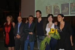 Da sin. Cosma Caserta, Mario Dal Bello, Turi Pittera, Giorgio Marchesi, Rita Caramma e Lucia Calderone