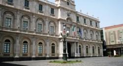 Il palazzo del Rettorato dell'Università di Catania