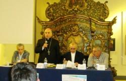 Il saluto dell'arcivescovo di Catania mons. Salvatore Gristina