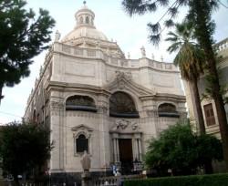 La barocca Badia di sant'Agata di Catania