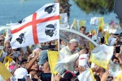 La visita pastorale di Papa Francesco a Cagliari