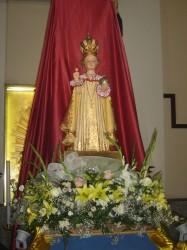 La statuetta del Gesù di Praga.