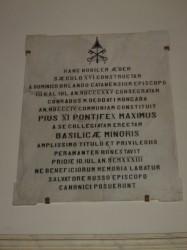 L'epigrafe commemorativa (1933)