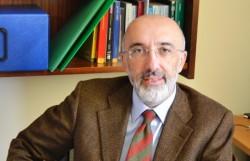 Il prof. Giacomo Pignataro, magnifico Rettore dell'Università di Catania