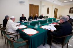 Recente riunione del Consiglio dei Cardinali con il papa