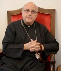 Mons. Issam John Darwish, arcivescovo melchita di Furzol