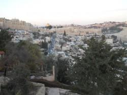 Gerusalemme e le mura della città antica
