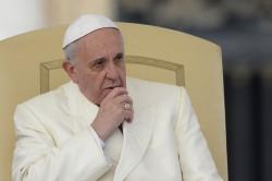 Papa Francesco in udienza generale