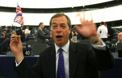 Nigel Farage, leader dell'Ukip