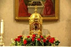 La reliquia del cuore di San Camillo