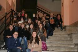 "Gli studenti del liceo francese ""Sivard de Beaulieu"""