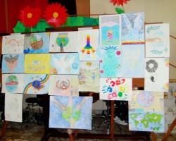 Alcuni dei disegni partecipanti al concorso