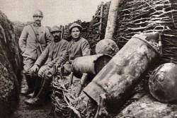 Un'immagine della prima guerra mondiale