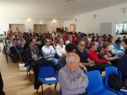 Pubblico presente alla conferenza