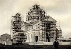 chiesa madre di mascali in costruzione