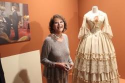 """Claudia Cardinale all'inaugurazione della mostra dedicata ai 50 anni del """"Gattopardo"""""""
