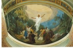 Abside altare centrale - Ascensione di Nostro Signore (Primo Panciroli, 1907)