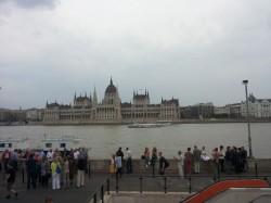 Budapest- Il Parlamento