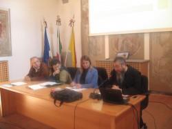 Da sinistra Di Mauro, Sanfilippo, Mazzaglia, Rizzone