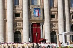 La cerimonia di beatificazione di Paolo VI, in San Pietro