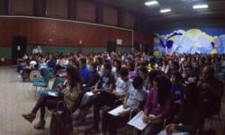 I giovanissimi studenti partecipanti all'incontro
