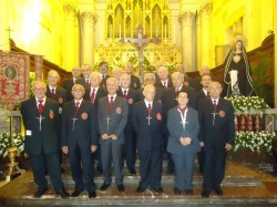 I membri dell'Arciconfraternita