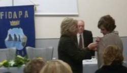 Presidente nazionale della FIDAPA, Anna Lamarca, accoglie le nuove socie