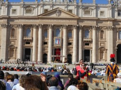 La cerimonia di beatificazione di Paolo VI in piazza S. Pietro