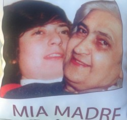 Maria Puglisi insieme alla madre, Camilla Bella