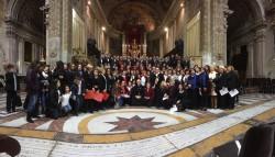 Corali coro vescovo