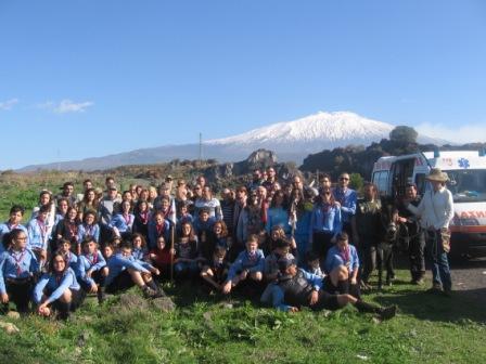 """Etna / In mille per """"Meglio parco che sporco"""" 2014, impegnati anche marines"""