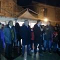 Inaugurazione sagra con il sindaco, Michele Mangione,  Cettino Bellia, Ettore Foti