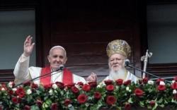 Papa e Bartolomeo I