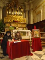 I due relatori dell'incontro ecumenico