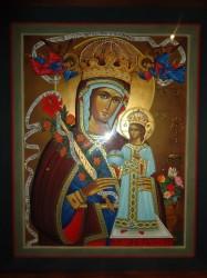 L'icona mariana, opera di Lia Galliolo