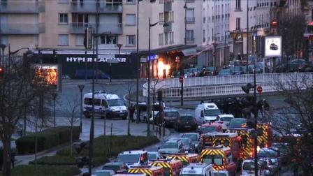 Parigi poco prima del blitz finale delle forze di sicurezza